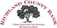 Richland County Bank. Where others have their branches, we have our roots.
